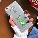 저렴한 아이폰 케이스-케이스 제품 Apple iPhone X iPhone 8 iPhone 8 Plus 아이폰5케이스 iPhone 6 iPhone 7 울트라 씬 투명 패턴 뒷면 커버 애플로고 관련 소프트 TPU 용 iPhone X iPhone 8 Plus iPhone