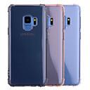 hesapli Galaxy S Serisi Kılıfları / Kapakları-Pouzdro Uyumluluk Samsung Galaxy S9 S9 Plus Şoka Dayanıklı Yarı Saydam Şeffaf Arka Kapak Solid Yumuşak TPU için S9 Plus S9 S8 Plus S8