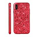 billige iPhone-etuier-Etui Til Apple iPhone X / iPhone 8 Belegg / Glitter Bakdeksel Glimtende Glitter Hard PC til iPhone X / iPhone 8 Plus / iPhone 8