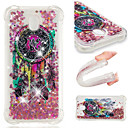 cheap Galaxy J Series Cases / Covers-Case For Samsung Galaxy J2 Prime / J2 PRO 2018 Shockproof / Flowing Liquid / Pattern Back Cover Dream Catcher / Glitter Shine Soft TPU for J7 (2017) / J7 (2016) / J7