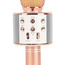 رخيصةأون حماية جير-WS858 لاسلكي / بلوتوث ميكروفون Other ميكروفون ديناميكي ميكروفون محمول باليد / موضة من أجل البار / ميكروفون كاريوكي