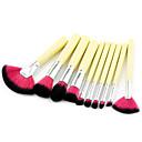 hesapli Makyaj ve Tırnak Bakımı-10'lu Paket Makyaj fırçaları Profesyonel Fırça Setleri Çevre-dostu / Yumuşak Plastik / Ahşap / Bambu