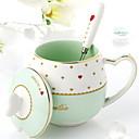 ieftine Căni-Drinkware Porţelan Căni de Cafea -Izolate termic 1pcs