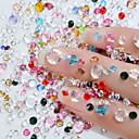 hesapli Makyaj ve Tırnak Bakımı-2 pcs Nail Art Matkap Seti Kristal tırnak sanatı Manikür pedikür Düğün / Parti / Gece / Günlük madeni