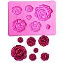 Недорогие Приборы для выпечки-Инструменты для выпечки Силиконовый гель 3D / День Святого Валентина Для торта Формы для пирожных 1шт