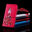 baratos Capinhas para iPhone-Capinha Para Apple iPhone X / iPhone 8 Carteira / Porta-Cartão / Flip Capa Proteção Completa Mulher Sensual Rígida PU Leather para iPhone X / iPhone 8 Plus / iPhone 8