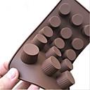 billige Utstyr til kaffe-Bakeware verktøy Silikon Kreativ Kjøkken Gadget Sjokolade / Is / For Godteri Dessertverktøy 1pc