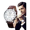 ieftine Ceasuri Bărbați-Bărbați Ceas de Mână Quartz Piele Negru / Maro Cronograf Analog Lux Elegant Aristo - Negru Maro Un an Durată de Viaţă Baterie / SSUO LR626