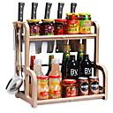 Недорогие Всё для хранения на кухне-Кухонная организация Полки и держатели Нержавеющая сталь Прост в применении 1шт