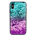 cheap iPhone Cases-Case For Apple iPhone X / iPhone 8 Pattern Back Cover Glitter Shine Hard Tempered Glass for iPhone X / iPhone 8 Plus / iPhone 8