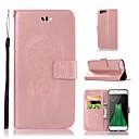 رخيصةأون أغطية-غطاء من أجل OPPO Oppo R11 محفظة / حامل البطاقات / مع حامل غطاء كامل للجسم بوم قاسي جلد PU