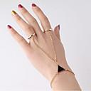 ieftine Brățări-Pentru femei Ring Bracelets Geometric Sclavii de aur femei Vintage Modă MetalPistol Bijuterii brățară Auriu Pentru Dată Stradă Costume Cosplay