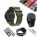 tanie Opaski do zegarka Samsung-Watch Band na Gear S3 Frontier / Gear S3 Classic Samsung Galaxy Pasek sportowy Nylon Opaska na nadgarstek