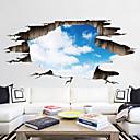 cheap Decoration Stickers-Decorative Wall Stickers / Floor Stickers - 3D Wall Stickers Landscape / 3D Living Room / Bedroom / Bathroom