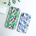 cheap iPhone Cases-Case For Apple iPhone X / iPhone 6 Pattern Back Cover Plants Hard PC for iPhone X / iPhone 8 Plus / iPhone 8