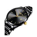 Χαμηλού Κόστους Ανδρικά ρολόγια-Ανδρικά Ρολόι Καρπού Ιαπωνικά Γιαπωνέζικο Quartz Ανοξείδωτο Ατσάλι Μαύρο / Ασημί / Χρυσό 30 m Χρονογράφος Δημιουργικό Νεό Σχέδιο Αναλογικό-Ψηφιακό Κλασσικό Μοντέρνα Κομψό Απλός ρολόι - / Ενας χρόνος