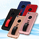 cheap iPhone Cases-Case For Apple iPhone 8 / iPhone 8 Plus Ring Holder Back Cover Solid Colored Hard PC for iPhone X / iPhone 8 Plus / iPhone 8