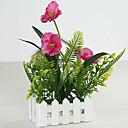 preiswerte Künstliche Blumen-Künstliche Blumen 1 Ast Klassisch Stilvoll Rustikal Orchideen Wand-Blumen