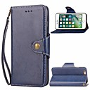 cheap iPhone Cases-Case For Apple iPhone 6 Wallet / Card Holder / with Stand Full Body Cases Solid Colored Hard PU Leather for iPhone 6