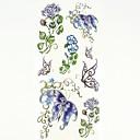 cheap Temporary Tattoos-1 pcs Tattoo Stickers Temporary Tattoos Animal Series / Flower Series Body Arts Hand / Arm / Wrist