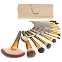 preiswerte Make-up & Nagelpflege-18pcs Makeup Bürsten Professional Bürsten-Satz- Umweltfreundlich / Weich Holz / Bambus