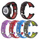 preiswerte Damenuhren-Uhrenarmband für Suunto Quest M5 / Suunto Quest M4 / Suunto Quest M1 Suunto Sport Band Silikon Handschlaufe