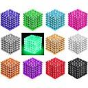 hesapli Magnet Oyuncaklar-216/512 pcs 3mm / 5mm Mıknatıslı Oyuncaklar Manyetik Toplar Legolar Bulmaca küpü Mıknatıs Neodymium Mıknatıs Yaratıcı Manyetik akıllı Genç Erkek Genç Kız Oyuncaklar Hediye