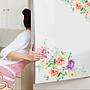 cheap Decoration Stickers-Decorative Wall Stickers - Plane Wall Stickers Floral / Botanical Indoor