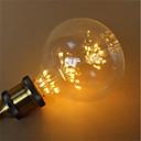 tanie Żarówki filament LED-1szt 3 W 300 lm E26 / E27 Żarówka dekoracyjna LED G125 45 Koraliki LED SMD Dekoracyjna / Gwiaździsty Ciepłe Żółte 85-265 V