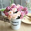 رخيصةأون أزهار اصطناعية-زهور اصطناعية 1 فرع كلاسيكي زهري Wedding Flowers الورود أزهار الطاولة