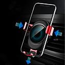 hesapli Cellphone & Device Holders-Araba Montaj Standı Tutucu Hava Çıkış Grilleri Toka Türü / Yerçekimi Türü Silikon / Metal / ABS Tutacak