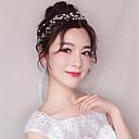 ieftine Bijuterii de Păr-Pentru femei Simplu Material Textil Aliaj Cristal Cordeluțe Petrecere Ceremonie - Floral