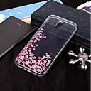 رخيصةأون حافظات / جرابات هواتف جالكسي J-غطاء من أجل Samsung Galaxy J7 (2017) / J7 (2016) / J7 IMD / شفاف / نموذج غطاء خلفي زهور ناعم TPU