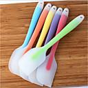 hesapli Temizlik Malzemeleri-Pişirme araçları spatula için kek silikon spatula pişirme pasta spatula spatula krem mikser dondurma kepçe krem kazıyıcı