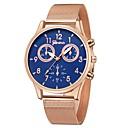 levne Dámské-Geneva Dámské Náramkové hodinky zlaté hodinky Křemenný Černá / Stříbro / Růžové zlato Nový design Hodinky na běžné nošení Cool Analogové dámy Na běžné nošení Módní - Stříbrný / bílá Černá / Stříbrn