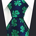 رخيصةأون ربطات عنق-ربطة العنق ورد / ألوان متناوبة / خملة الجاكوارد رجالي حفلة / عمل