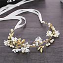 ieftine Bijuterii de Păr-Pentru femei Simplu Corean Material Textil Aliaj Cristal Cordeluțe Petrecere Ceremonie - Floral