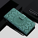 cheap Cases / Covers for Xiaomi-Case For Xiaomi Xiaomi Pocophone F1 / Mi 8 with Stand / Flip Full Body Cases Flower Hard PU Leather for Xiaomi Redmi Note 5 Pro / Xiaomi Pocophone F1 / Xiaomi Redmi 6 Pro