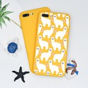 abordables Coques d'iPhone-Coque Pour Apple iPhone X / iPhone 8 Plus Motif Coque Bande dessinée Flexible TPU pour iPhone X / iPhone 8 Plus / iPhone 8