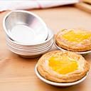 preiswerte Tee-Zubehör-6pcs cupcake tart halter cookie pudding eiform aluminium form kuchen backenwerkzeuge