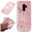 economico Custodie / cover per Galaxy serie S-Custodia Per Samsung Galaxy S9 Plus / S9 Placcato / IMD / Fantasia / disegno Per retro Effetto marmo Morbido TPU per S9 / S9 Plus / S8 Plus