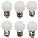 preiswerte LED-Kugelbirnen-6pcs 2 W 80 lm E26 / E27 LED Kugelbirnen G45 8 LED-Perlen SMD 2835 Dekorativ Warmes Weiß / Kühles Weiß 220-240 V