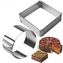 cheap Baking Tools & Gadgets-Bakeware tools Stainless Steel New Arrival / DIY Everyday Use / Kitchen Dessert Tools 2pcs