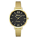 hesapli Küpeler-Geneva Kadın's Elbise Saat Bilek Saati Quartz Siyah / Altın Rengi / Gül Altın Yeni Dizayn Gündelik Saatler Havalı Analog Bayan Günlük Moda - Altın / Beyaz Gül Altın / Beyaz Siyah / Gül Altın Bir yıl