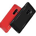 baratos Capinhas para Galaxy Série S-Capinha Para Samsung Galaxy S9 Plus / S9 Antichoque / Áspero Capa traseira Sólido Macia TPU para S9 / S9 Plus / S8 Plus