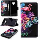 ieftine Motoare & Părți-Maska Pentru Samsung Galaxy Note 9 / Note 8 Portofel / Titluar Card / Cu Stand Carcasă Telefon Flamingo Greu PU piele