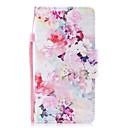 cheap Galaxy J Series Cases / Covers-Case For Huawei P8 Lite Wallet / Card Holder / Flip Full Body Cases Flower Hard PU Leather for P8 Lite (2017) / Huawei P8 Lite