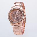 billige Laghalskæder-Dame Armbåndsur Diamond Watch Quartz Sølv / Guld / Rose Guld Afslappet Ur Analog Damer Mode - Guld Sølv Rose Guld