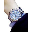 זול שעוני נשים-בגדי ריקוד נשים שעון יד קווארץ כסף / זהב כרונוגרף זורח חמוד אנלוגי נשים פרח אלגנטית - זהב כסף / חיקוי יהלום