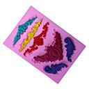 Недорогие Кольца-Инструменты для выпечки кремнийорганическая резина Экологичные / 3D Торты / Печенье / Шоколад выпечке Mold 1шт